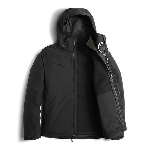 Discount NORTH FACE MEN\'S CONDOR TRICLIMATE  JACKET BLACK/BLACK/ROSIN GREEN GLAMO PRINT ONLINE