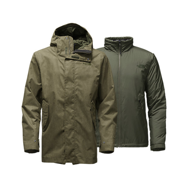 Discount NORTH FACE MEN'S ELMHURST TRICLIMATE  JACKET ROSIN GREEN ONLINE