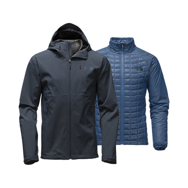 Discount NORTH FACE MEN'S THERMOBALL  TRICLIMATE  JACKET URBAN NAVY HEATHER ONLINE