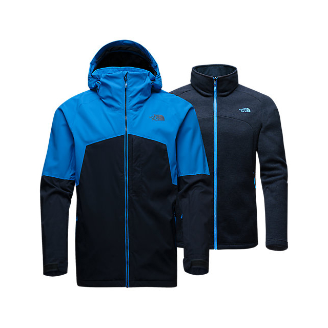 Discount NORTH FACE MEN'S GAMBIT TRICLIMATE JACKET BOMBER BLUE/URBAN NAVY ONLINE