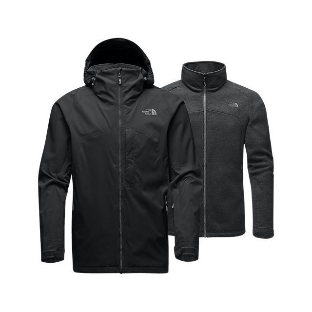 Discount NORTH FACE MEN'S GAMBIT TRICLIMATE JACKET BLACK ONLINE
