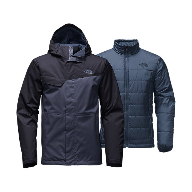 Discount NORTH FACE MEN'S BESWICK TRICLIMATE  JACKET SHADY BLUE/URBAN NAVY ONLINE