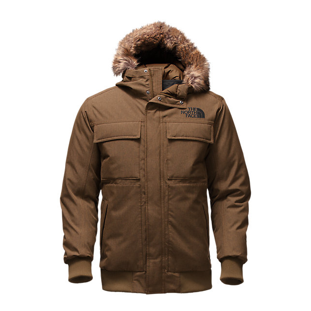 Discount NORTH FACE MEN'S GOTHAM JACKET II BROWN FIELD HEATHER ONLINE