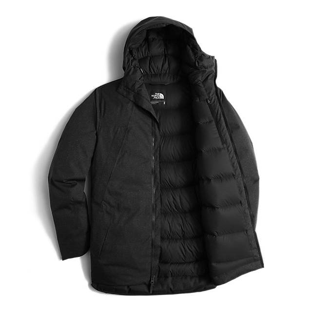 Discount NORTH FACE MEN\'S FAR NORTHERN WATERPROOF PARKA BLACK HEATHER ONLINE