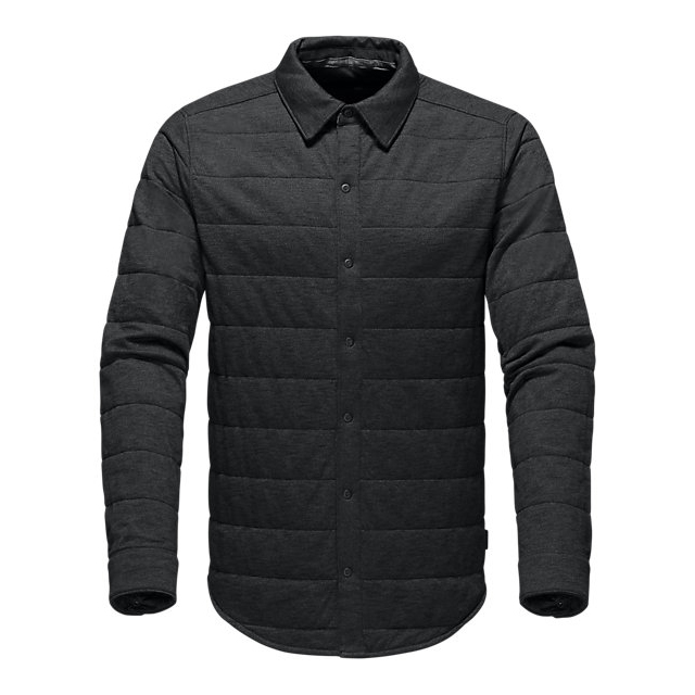 Discount NORTH FACE MEN'S LONG-SLEEVE SEND IT SHACKET BLACK ONLINE