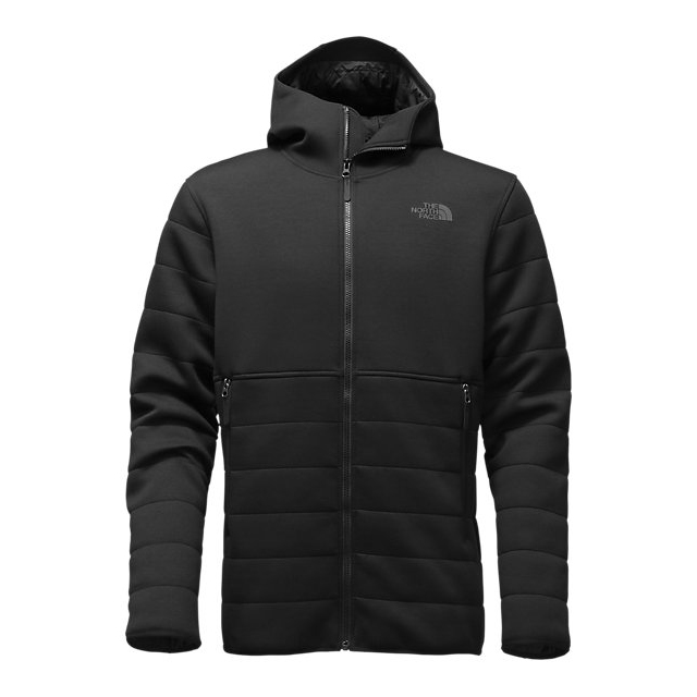 Discount NORTH FACE MEN'S HOODED HALDEE INSULATED JACKET BLACK ONLINE