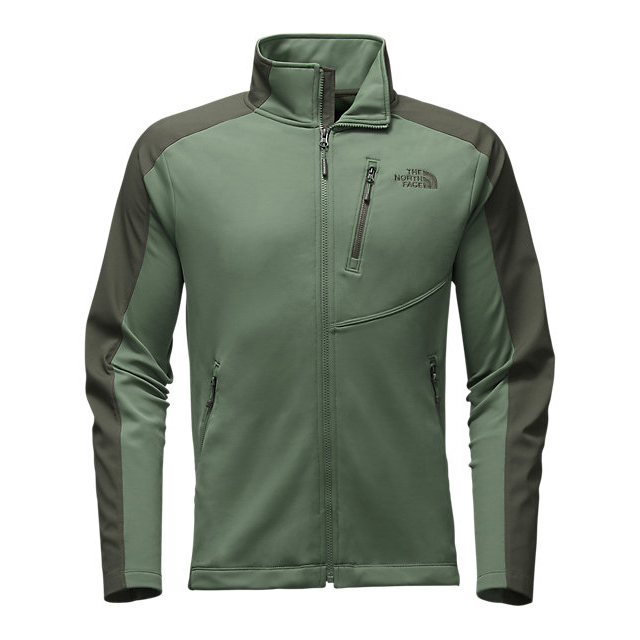 Discount NORTH FACE MEN'S TENACIOUS HYBRID FULL ZIP DUCK GREEN/CLIMBING IVY GREEN ONLINE