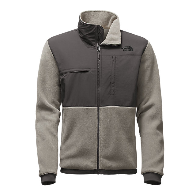 Discount NORTH FACE MEN'S DENALI 2 JACKET RECYCLED MOONMIST GREY/ASPHALT GREY ONLINE