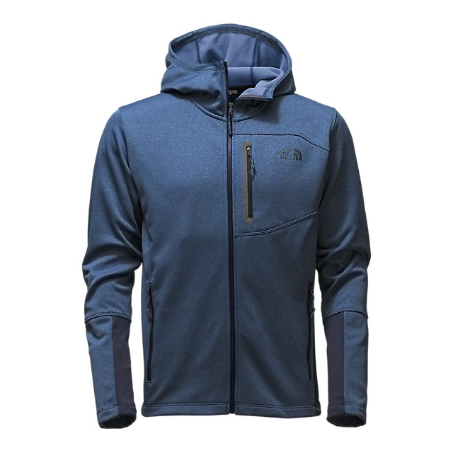 Discount NORTH FACE MEN'S CANYONLANDS HOODIE SHADY BLUE HEATHER ONLINE