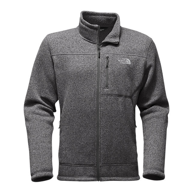 Discount NORTH FACE MEN'S GORDON LYONS FULL ZIP ASPHALT GREY HEATHER ONLINE