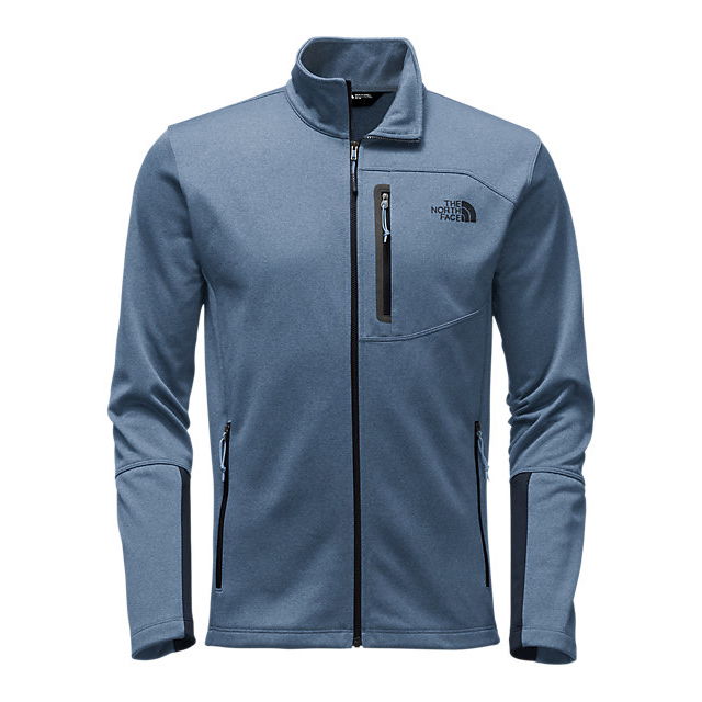 Discount NORTH FACE MEN\'S CANYONLANDS FULL ZIP SHADY BLUE HEATHER ONLINE
