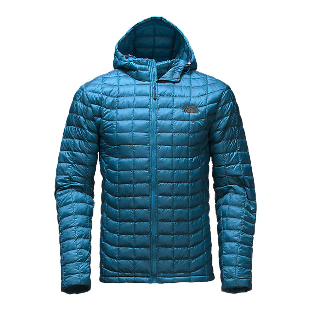 Discount NORTH FACE MEN'S THERMOBALL HOODIE BANFF BLUE ONLINE