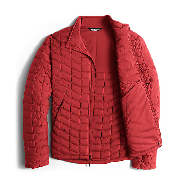 Discount NORTH FACE MEN\'S STRETCH THERMOBALL JACKET CARDINAL RED ONLINE