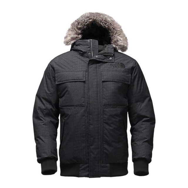 Discount NORTH FACE MEN'S GOTHAM JACKET II BLACK CROC EMBOSS ONLINE