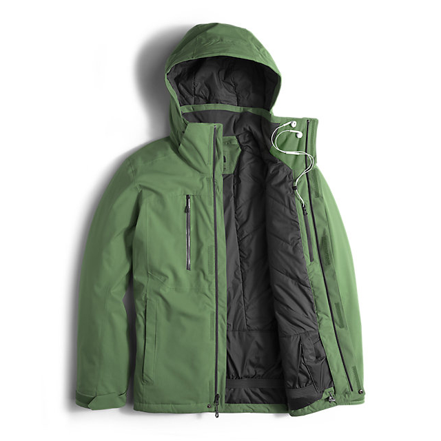 Discount NORTH FACE MEN\'S POWDANCE JACKET VISTA GREEN ONLINE