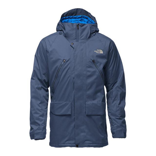 Discount NORTH FACE MEN'S SHERMAN INSULATED JACKET SHADY BLUE WAX ONLINE