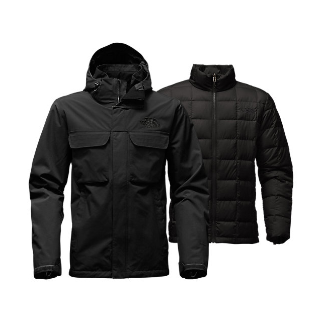 Discount NORTH FACE MEN\'S HAUSER TRICLIMATE JACKET BLACK / BLACK ONLINE
