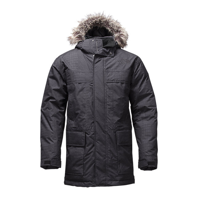 Discount NORTH FACE MEN'S MCMURDO PARKA II BLACK CROC EMBOSS ONLINE