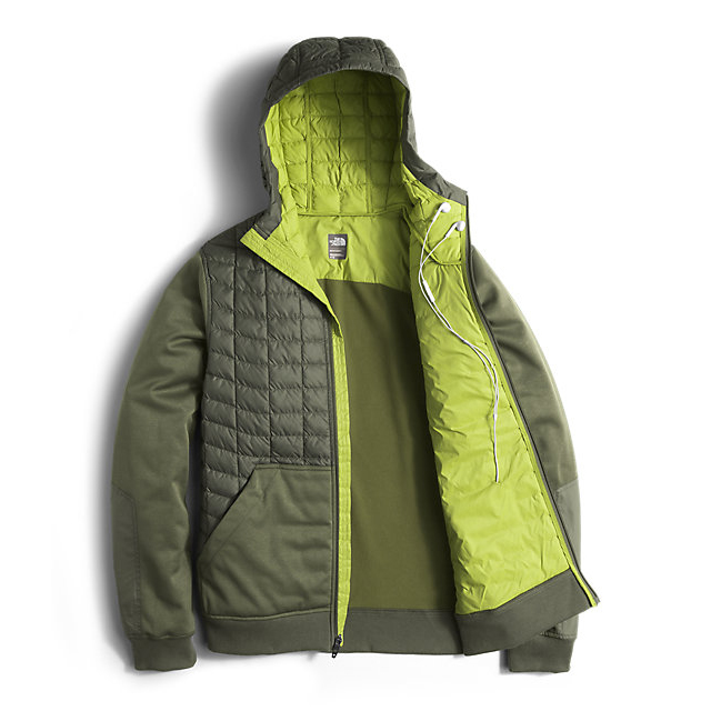 Discount NORTH FACE MEN\'S KILOWATT THERMOBALL JACKET CLIMBING IVY GREEN ONLINE