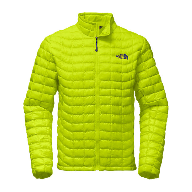 Discount NORTH FACE MEN'S THERMOBALL FULL ZIP JACKET SULPHUR SPRING GREEN ONLINE