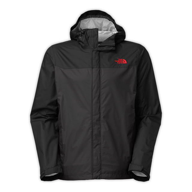 Discount NORTH FACE MEN\'S VENTURE JACKET ASPHALT GREY/BLK/RED ONLINE