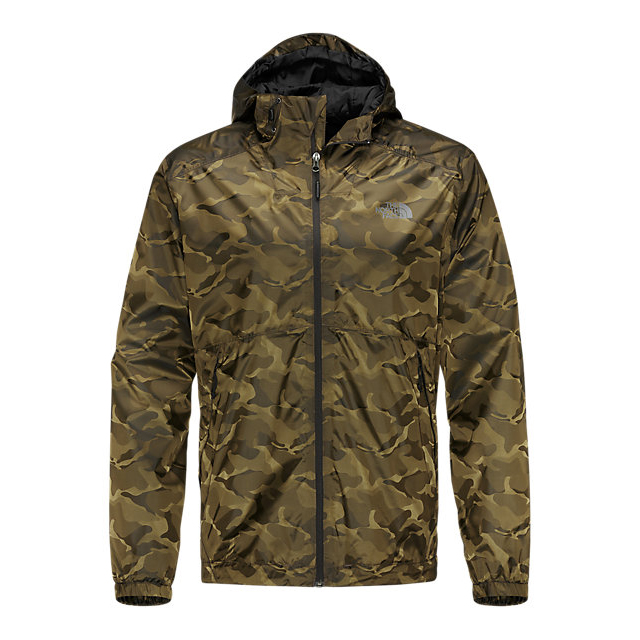 Discount NORTH FACE MEN\'S MILLERTON JACKET BLACK INK GREEN CAMO ONLINE