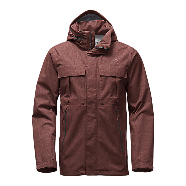 Discount NORTH FACE MEN'S KASSLER FIELD JACKET SEQUOIA RED HEATHER ONLINE