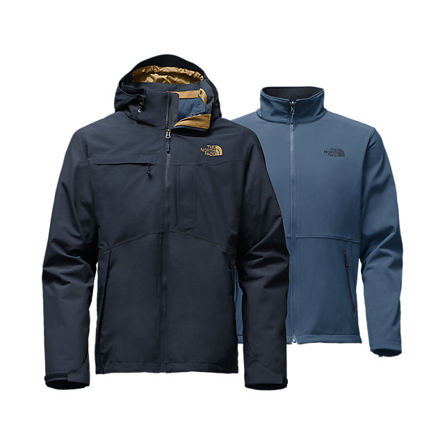Discount NORTH FACE MEN'S CONDOR TRICLIMATE JACKET URBAN NAVY HEATHER/URBAN NAVY HEATHER ONLINE