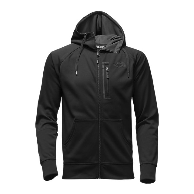 Discount NORTH FACE MEN\'S MACK MAYS FULL ZIP HOODIE BLACK / BLACK ONLINE