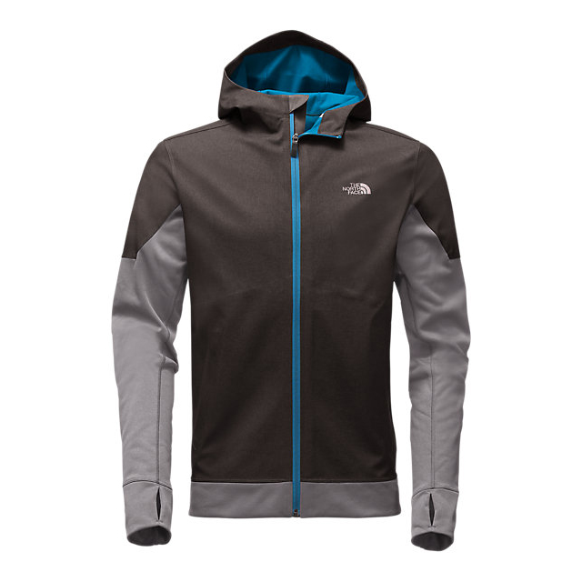 Discount NORTH FACE MEN'S KILOWATT JACKET DARK GREY HEATHER-BLUE ASTER ONLINE