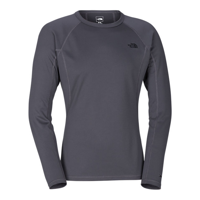 Discount NORTH FACE MEN'S WARM LONG-SLEEVE CREW NECK GRAPHITE GREY ONLINE