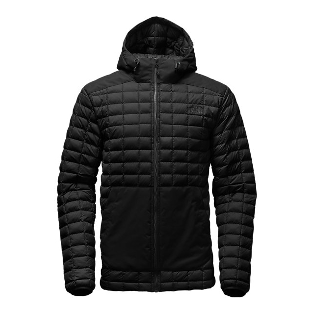 Discount NORTH FACE MEN'S THERMOBALL  SNOW HOODIE BLACK ONLINE