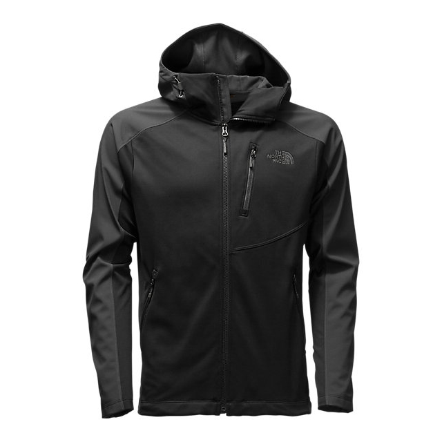 Discount NORTH FACE MEN\'S TENACIOUS HYBRID HOODIE BLACK / ASPHALT GREY ONLINE