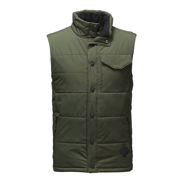 Discount NORTH FACE MEN\'S PATRICKS POINT VEST CLIMBING IVY GREEN ONLINE