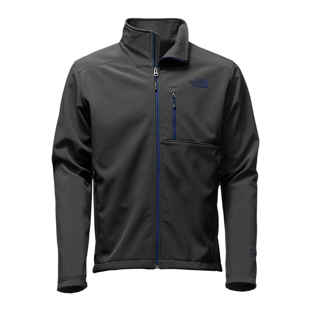Discount NORTH FACE MEN'S APEX BIONIC 2 JACKET - UPDATED DESIGN BLACK/SHADY BLUE ONLINE