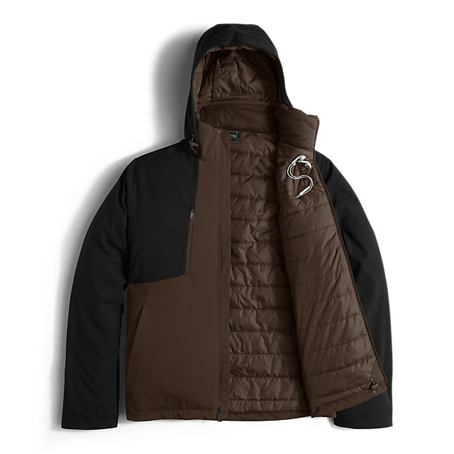 Discount NORTH FACE MEN\'S APEX ELEVATION JACKET COFFEE BEAN BROWN/BLACK ONLINE