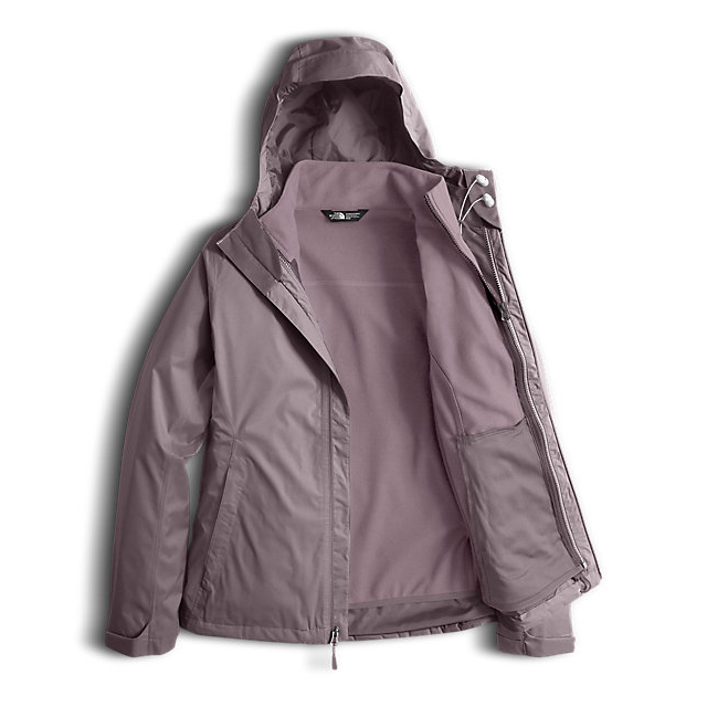 Discount NORTH FACE WOMEN\'S ARROWOOD TRICLIMATE  JACKET QUAIL GREY DOBBY ONLINE