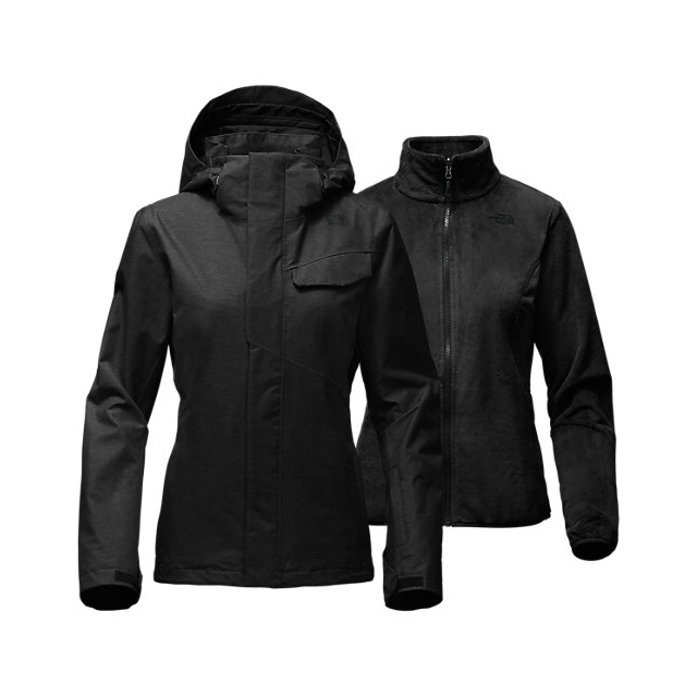 Discount NORTH FACE WOMEN'S HELATA TRICLIMATE  JACKET BLACK ONLINE