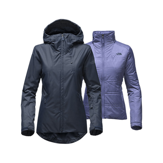 Discount NORTH FACE WOMEN'S CLEMENTINE TRICLIMATE  JACKET URBAN NAVY ONLINE