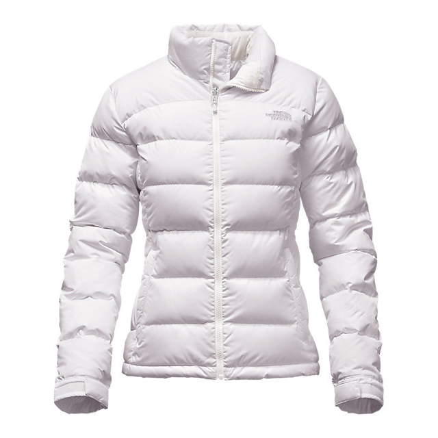 Discount NORTH FACE WOMEN'S NUPTSE 2 JACKET WHITE ONLINE