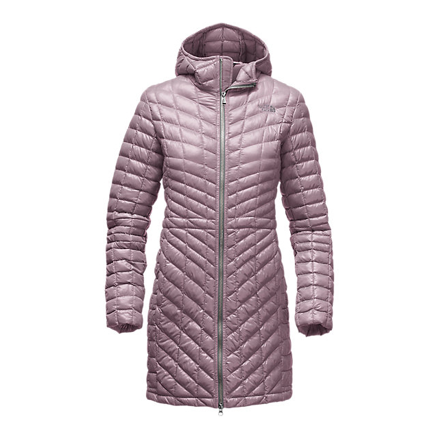 Discount NORTH FACE WOMEN'S THERMOBALL  HOODED PARKA QUAIL GREY ONLINE