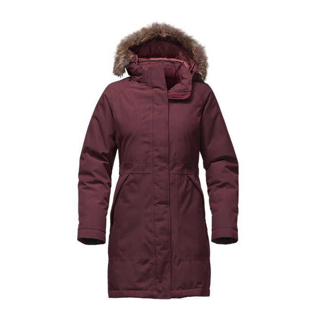 Discount NORTH FACE WOMEN'S ARCTIC DOWN PARKA DEEP GARNET RED HEATHER ONLINE
