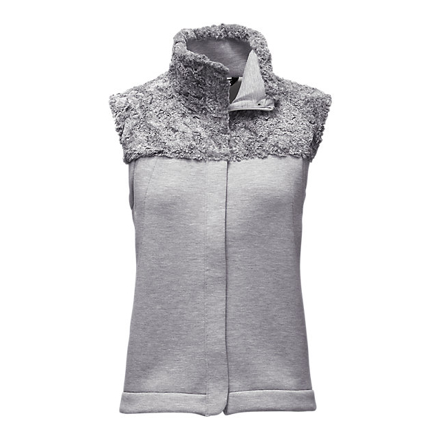 Discount NORTH FACE WOMEN'S HYBRINATION THERMAL 3D VEST LIGHT GREY HEATHER ONLINE