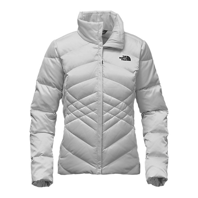 Discount NORTH FACE WOMEN'S ACONCAGUA JACKET LUNAR ICE GREY ONLINE