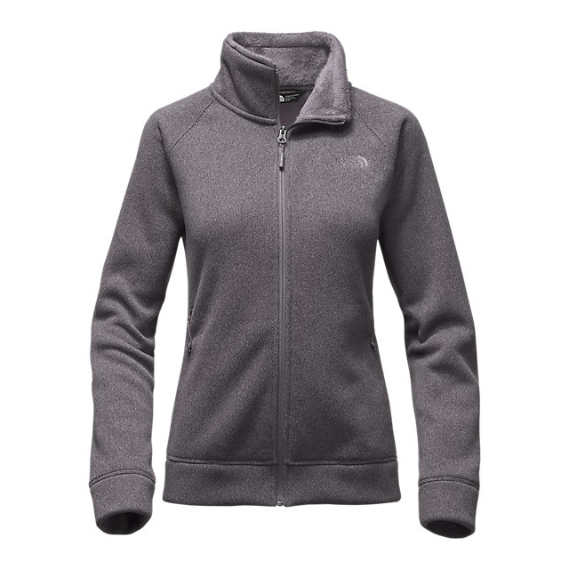 Discount NORTH FACE WOMEN\'S CRESCENT RASCHEL FULL ZIP JACKET RABBIT GREY HEATHER ONLINE