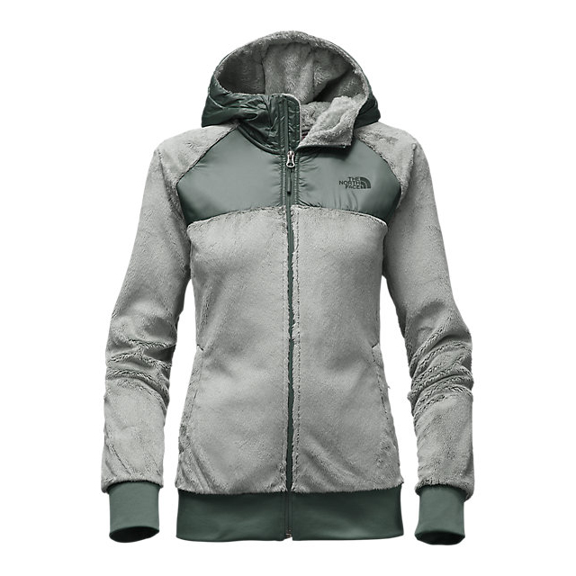 Discount NORTH FACE WOMEN'S OSO HOODIE WROUGHT IRON/BALSAM GREEN ONLINE