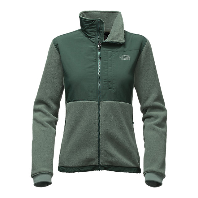 Discount NORTH FACE WOMEN'S DENALI 2 JACKET BALSAM GREEN HEATHER/DARKEST SPRUCE GREEN ONLINE