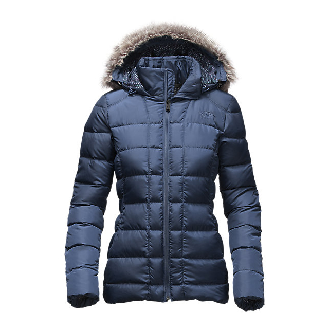 Discount NORTH FACE WOMEN\'S GOTHAM DOWN JACKET SHADY BLUE ONLINE