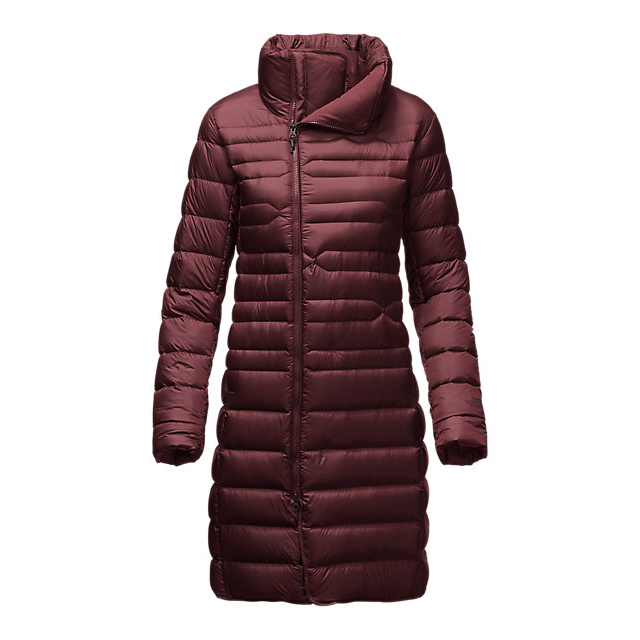 Discount NORTH FACE WOMEN'S FAR NORTHERN PARKA DEEP GARNET RED ONLINE