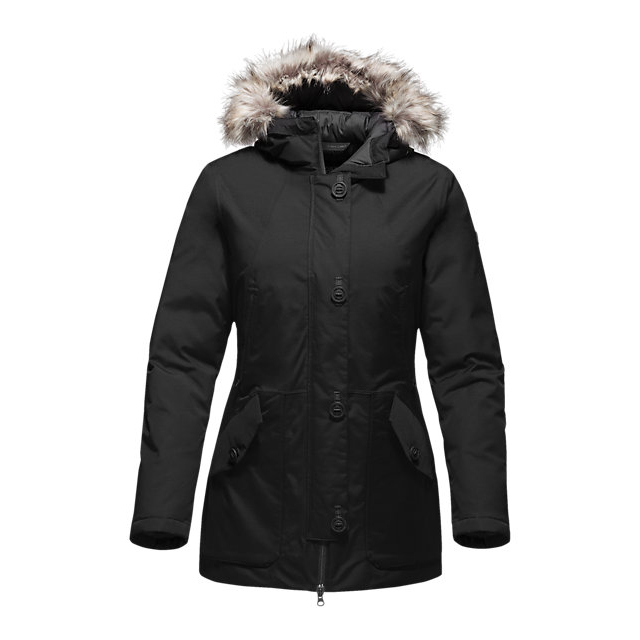 CHEAP NORTH FACE WOMEN'S MAUNA KEA PARKA BLACK ONLINE